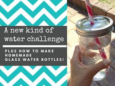 #DIY reusable glass water bottles - why you need 'em, and how to make 'em!