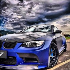Magnificent BMW M3 - Moody Skyline