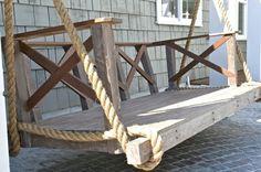 Swing Daybed via Tiek Built Homes