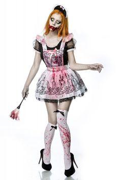 #Halloween #Zombie #Zimmermädchen-Kostüm - My-Kleidung Onlineshop