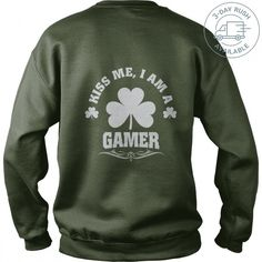 KISS ME, I'M GAMER PATRICK'S DAY T-SHIRTS TeeChip Shirts, Ladies Tee, Guys Tee, Hoodie