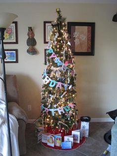 New Year's/Birthday tree!!