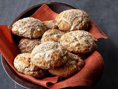 Maple-Oatmeal Scones recipe from Ina Garten via Food Network