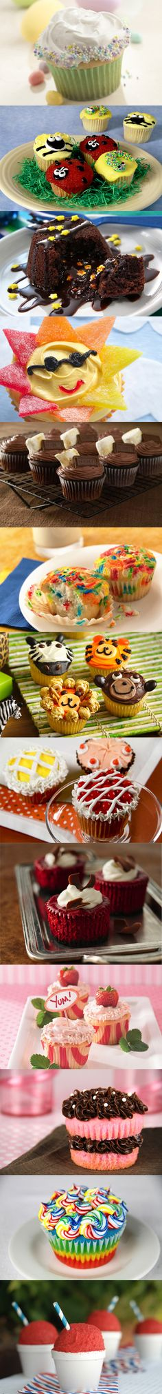 LOTS of fun Cupcake ideas!