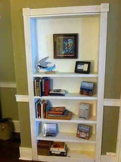 Secret door bookcase. Who doesn't need one of these?!