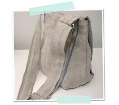 Nähanleitung für eine Jeans-Tasche – Upcycling   Das hat Mark gemacht