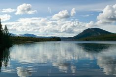 This is Funasdalen in Sweden