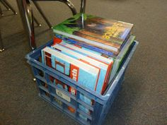 I Love My Classroom - student texts in crates (per team group)