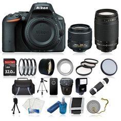 94688 photo-video Nikon D5500 Digital SLR Camera + 8 Lens Kit: 18-55 VR II & 70-300 + 32GB & More  BUY IT NOW ONLY  $729.99 Nikon D5500 Digital SLR Camera + 8 Lens Kit: 18-55 VR II & 70-300 + 32GB & More...