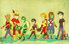 I love how Red Arrow is like Artemis' older brother or something.