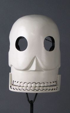 Mexican skull mask, Day of the Dead, Michoacan, Mexico