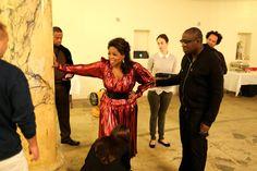 Behind the Scenes: Best Performances 2014 - Oprah Winfrey and Edward Enninful.