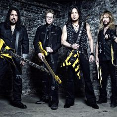 Stryper+To+Dust+Off+Classic+Yellow+&+Black+Outfits+For+30th+Anniversary+To+Hell+With+The+Devil+Tour