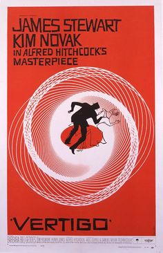 9. Vertigo (1958) - The 75 Most Iconic Movie Posters of All Time | Complex