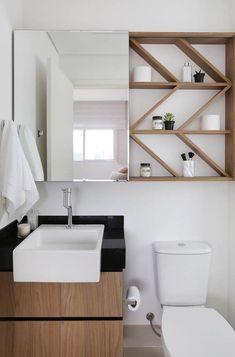 5 Ideas to Create a Minimalist Bathroom Design - Decor Real White Minimalist Bathrooms, Minimalist Room Design, White Bathrooms, Luxury Bathrooms, Master Bathrooms, Dream Bathrooms, Small House Decorating, Bathroom Design Small, Small Apartments