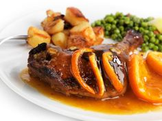 Learn how to prepare Duck Legs with Orange Sauce. Remove any excess fat from the duck legs, as well . Duck Recipes, Retro Recipes, Orange Recipes, Crock Pot Duck Recipe, Famous French Food, Orange Sauce Recipe, Roast Duck, Pressure Cooker Recipes, Slow Cooker