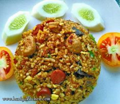 Tasty Rice Recipes, Rice Recipes For Dinner, Side Dish Recipes, Rice Side Dishes, Main Dishes, What Can I Eat, Nasi Goreng, Indonesian Food, Fried Rice