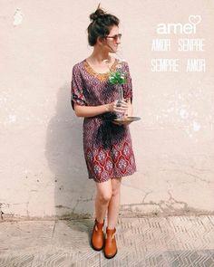 amor de vestido❤️ @loja_amei #lojaamei #vestido #verão #muitoamor