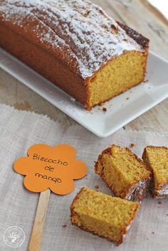 Bizcocho de mango , suave, esponjoso y con un sabor delicioso