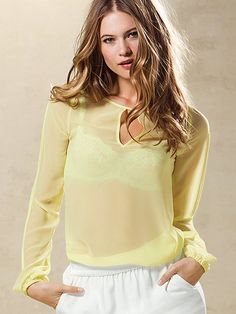 NEW! Open-Back Blouse #VictoriasSecret http://www.victoriassecret.com/clothing/view-all-tops/open-back-blouse?ProductID=90763=OLS?cm_mmc=pinterest-_-product-_-x-_-x