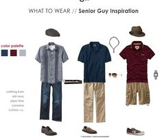 bd72d388a4b Dressing for a senior guy photo session is a breeze. Bring your sunglasses