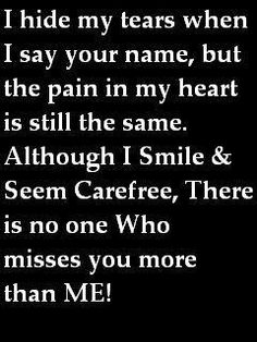 I miss you so much at times I feel my heart crushed. Love you Daddy. Not a day doesn't go by I think of you and miss you so much. Missing You So Much, Just For You, Love You, My Love, Missing Daddy, The Words, Quotes To Live By, Me Quotes, Qoutes