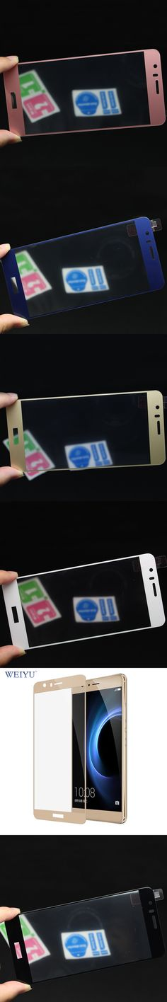 WEIYU For Huawei Honor 8 Full Cover Tempered Glass Screen Protector For Huawei Honor8 Protective Film
