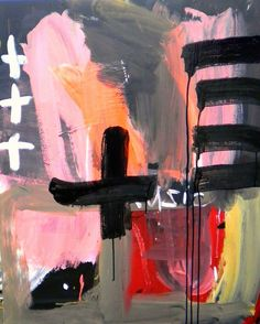 Shohei Hanazaki is on the forefront of the raw avant garde new art wave coming out of Asia. His paintings are raw and expressive. Abstract Expressionism, Abstract Art, Abstract Paintings, Contemporary Paintings, Painting Inspiration, Art Inspo, Illustration Arte, Illustrations, Collage