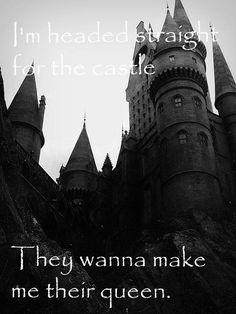 Castle- Halsey. Looks like Hogwarts. I'd go