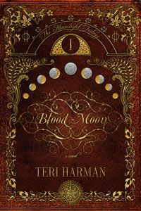 Blood Moon by Teri Harman is book one in her Moonlight Trilogy. It's a page turning read with a fast paced plot and characters that draw you into their world of intrigue, deception, and witchcraft like you've never read before. Deeply rooted in earth magic, the tendrils of witch generations reach out through time, the past affecting the future in ways unexpected and imaginative.