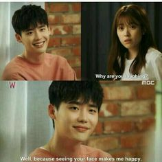 W - Two Worlds. >>> Oh the feeeels. If a guy said that to me (which would probs not happened.) id marry him straight away Korean Drama Funny, Korean Drama Quotes, W Kdrama, Kdrama Memes, W Two Worlds, Between Two Worlds, K Pop, Why Are You Laughing, Moorim School