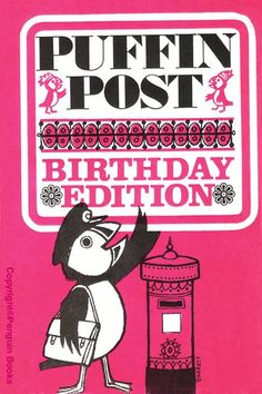 The cover of the very first Puffin Post - pre Puffin Club - which was circulated in selected books in 1966.