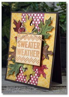 SweaterWeatherConstantlyStamping-003 - SU - (Seasonal Snapshot 2015 Project Life Accessory Pack, Vintage Leaves stamp set