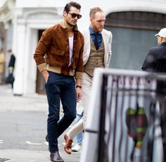 @davidgandy_official such a #gent  #tag a friend who would look good in this #suede jacket [ http://ift.tt/1f8LY65 ]