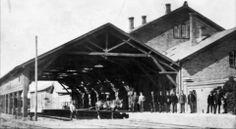 Helsingør Banegård, Trækbanen