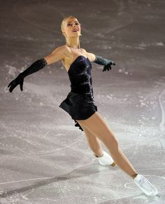Kiri Korpi - Black Figure Skating / Ice Skating dress inspiration for Sk8 Gr8 Designs.