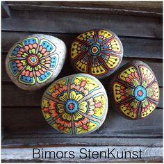 #paintstone#flowers#colour