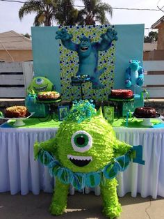 Monster's Inc Birthday Party Ideas | Photo 2 of 16