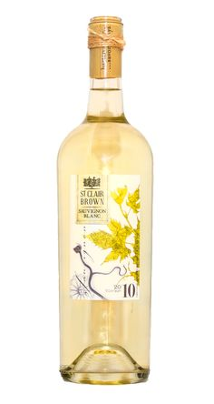 2010 St. Clair Brown Winery Napa Valley Sauvignon Blanc....just got a bottle of this as a Christmas gift, cant wait to try it.