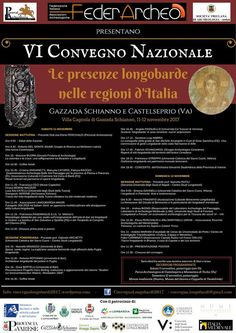 """Italia Medievale: Convegno nazionale """"Le presenze longobarde nelle r..."""
