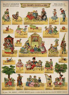 Les Champs Élysées en 1867http://www.geheugenvannederland.nl