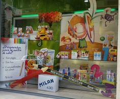 #Escaparate Vuelta al cole 2014 #Farmacia Duggi #Tenerife