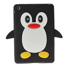 Cute 3D Cartoon Penguin Silicone Soft Skin Case Cover for iPad Mini - iPad Mini Case