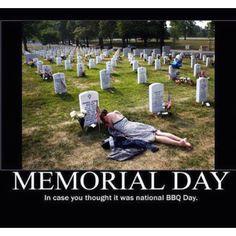 Memorial Day!  Thank you!