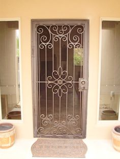 Ancient Decor Security Doors With Creative And Innovative Design Concepts / Security Doors | Home Security Doors with Fantastic Decorations
