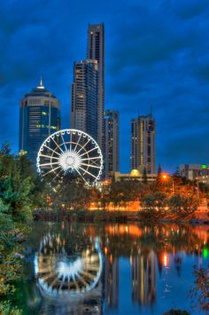 The Wheel of Surfers Paradise, an icon where you can view the goregous city skyline, and the greater Gold Coast hinterland