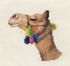 CAMEL, Dromedary ~ Full counted cross stitch kit with all materials