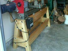 Lathe Stand for Nova 3000 - by BobAnderton @ LumberJocks.com ~ woodworking community