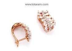 Totaram Jewelers: Buy 22 karat Gold jewelry & Diamond jewellery from India: Diamond Earrings
