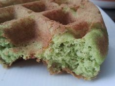 Green Smoothie Waffles (Super healthy without the health taste!) Gluten Free, Dairy Free, Sugar Free